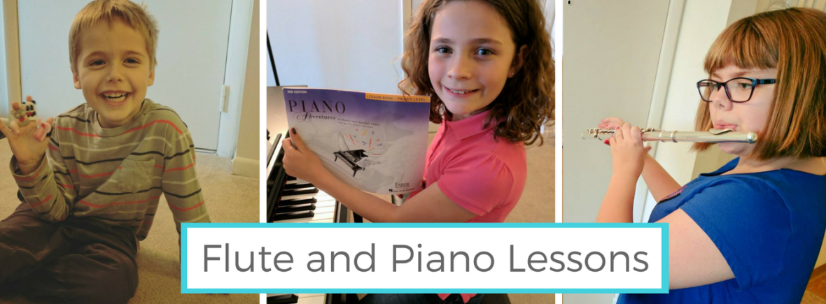 Flute and Piano Lessons in Troy